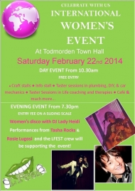 Todmorden International Women's Day celebration
