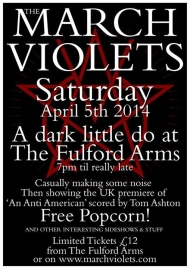 5.4.2014 - The March Violets, York