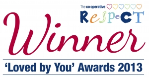 Respect 'Loved By You' Award Winner