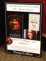 12.2.2015 - Vixen launched in paperback