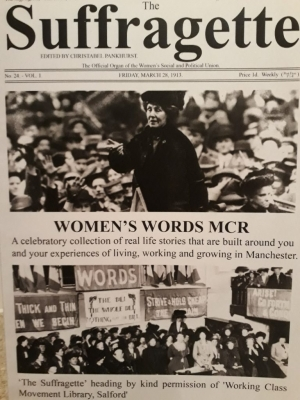 The Suffragette - Women's Words Mcr